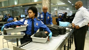 TSA traditional bag screening procedures